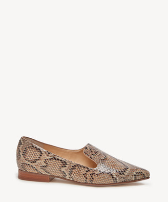 Sole Society Women's Kapa Asymmetrical Flats Brown Multi Size 5 Haircalf From