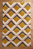 Anthropologie Hand-Tufted Trellis Rug