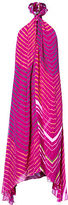 Polo Ralph Lauren Shibori-Dyed Silk Halter Dress