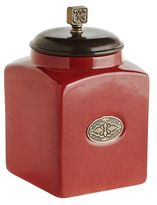 Pier 1 Imports Red Small Canister