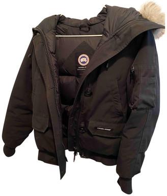 Canada Goose Chilliwack Black Cotton Coats