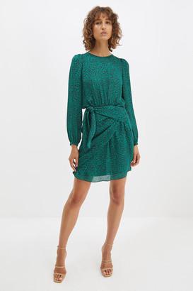 SABA Paloma Silk Mini Dress