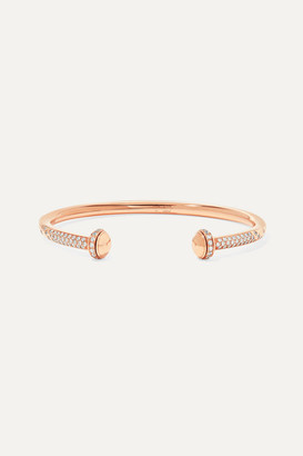 Piaget Possession 18-karat Rose Gold Diamond Cuff