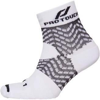 Pro Touch Unisex Compression Low Cut Running Sock White