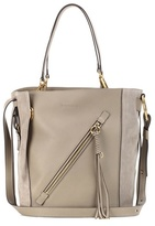 Chloé Myer Medium leather and suede tote