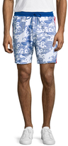 Bikkembergs Cotton Knit Printed Shorts