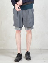Kolor Camo Under Layer Shorts