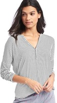 Gap Pure Body split-neck henley