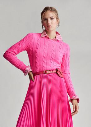 Ralph Lauren Distressed Cashmere Sweater