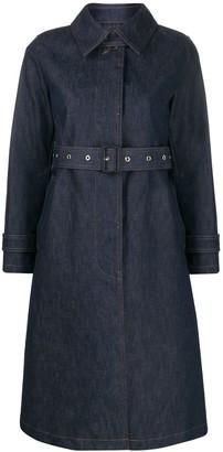 MACKINTOSH Roslin single breasted trench coat