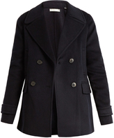 Vince Wool and cashmere-blend pea coat