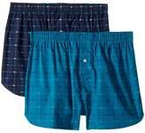 Lacoste Authentics 2-Pack Signature Print Woven Boxers Men's Underwear