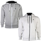 Kangol Mens Zip Up Sawyer + Finia Hoodie Hooded Sweater Jumper Top Sizes S-Xl