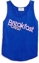 Wildfox Couture Girls' Breakfast Crew Tank