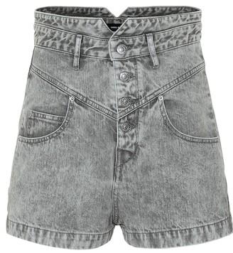Isabel Marant Exclusive to Mytheresa Aloa high-rise denim shorts