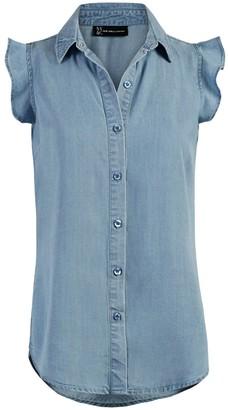New York & Co. Ultra-Soft Chambray Shirt