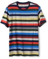 Gap Crazy stripe short sleeve crewneck tee
