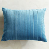 Pier 1 Imports Velvet Striped Peacock Lumbar Pillow