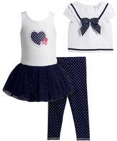 Youngland Toddler Girl Popover Sailor Top