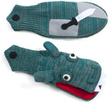 Kidorable Green Knight & Dragon Mittens