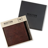 Kenneth Cole Reaction Men's Crunch Hipster Leather RFID Wallet