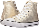 Converse Chuck Taylor® All Star® Metallic Canvas Hi (Little Kid)