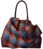 Vivienne Westwood Winter Tartan Bag Satchel Handbags