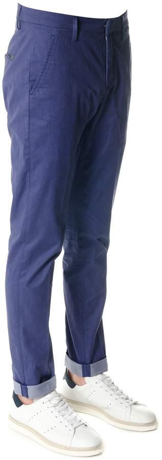 Dondup Gaubert Blue Cotton Pants
