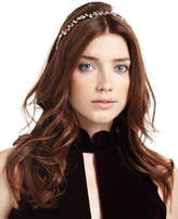 Jennifer Behr Vera Crystal Leaf Circlet Headband