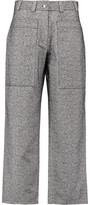 Acne Studios Milford Felted Cotton-Twill Wide-Leg Pants