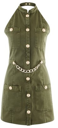 Balmain Short military dress
