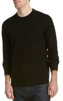 Ben Sherman Prince Of Wales Crewneck Wool-blend Sweater.
