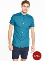 Very Short Sleeve Linen Shirt