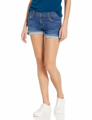 James Jeans Women's Shorty Slouchy Fit Boy Shorts
