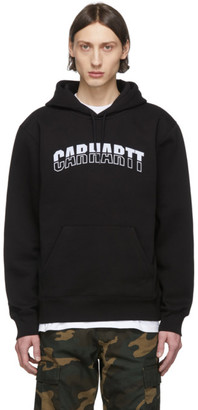 Carhartt Work In Progress Black District Hoodie