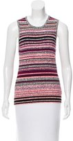 Tanya Taylor Striped Knit Top