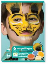 Djeco Tiger Makeup - Set of 6