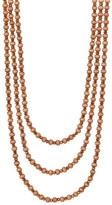 Natasha Accessories Long Beaded Necklace Set