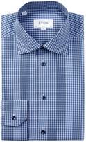 Eton Printed Slim Fit Dress Shirt
