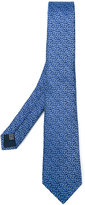 Lanvin rectangle pattern tie - men - Silk - One Size