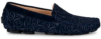 Robert Graham Hearst Suede Driving Shoes