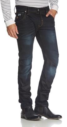 G Star Men's Arc 3D Slim Fit Jean in Hydrite Denim Indigo Aged
