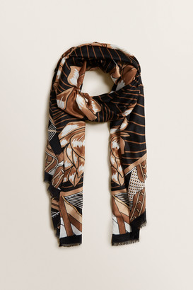 Seed Heritage Statement Floral Scarf
