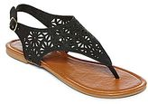 JCPenney Mixit Cutout Shield Sandals