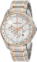 Pierre Petit Men's P-786E Serie Le Mans Two-Tone Stainless-Steel Bracelet Chrono Watch