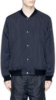 T By Alexander Wang Washed nylon bomber jacket