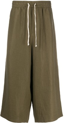 Societe Anonyme Cropped Drawstring Trousers