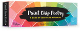 Chronicle Books Paint Chip Poetry