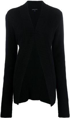 Ann Demeulemeester Open-Front Virgin Wool Cardigan