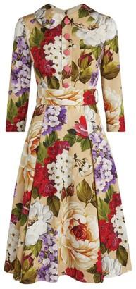 Dolce & Gabbana Floral Shirt Dress